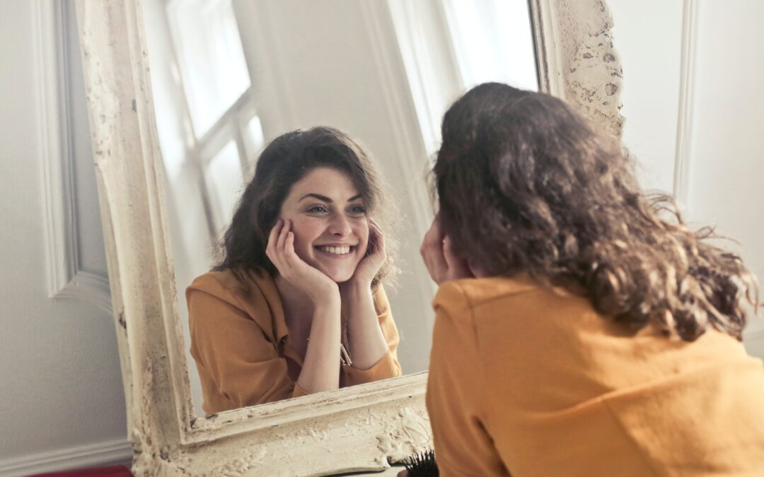 Affirmation  I am beautiful just the way I am.
